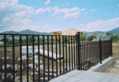 balcony metal fence fabrication
