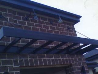 custom metal awning