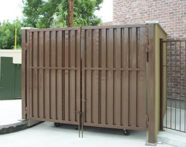 dumpster gate