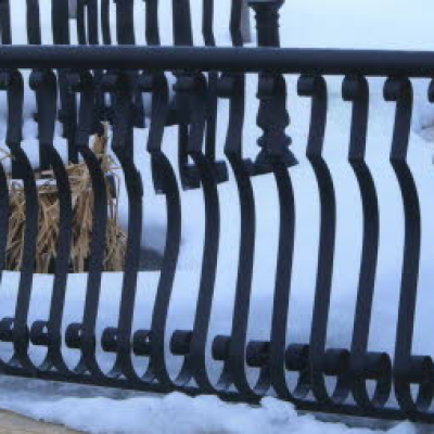 custom metal railing fabrication