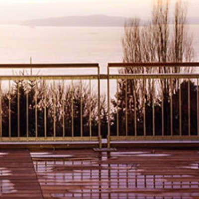 quality patio exterior railing