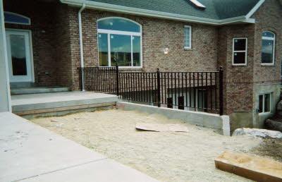 metal railing