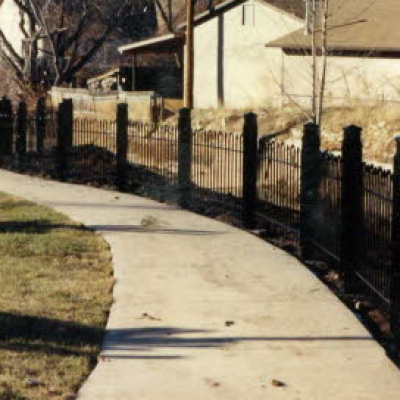metal fencing fabrication