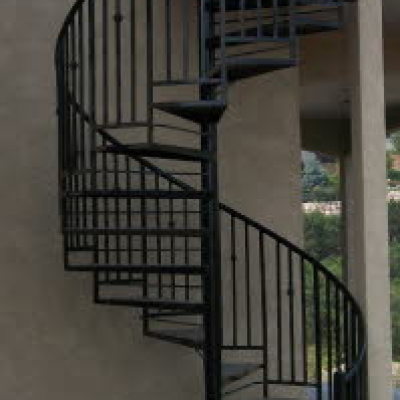 Metal Spiral Stairs Fabrication